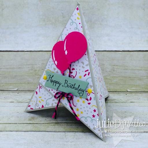 Teepee Birthday Card