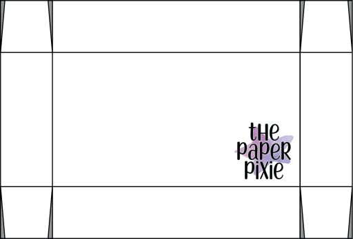This is a template created by the Paper Pixie to go along with the video tutorial to assist you in making the Shadow Box.