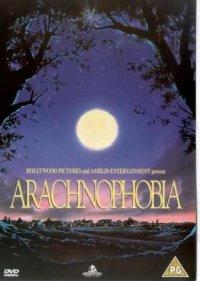 movie poster Arachnophobia