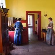 Kelly Farm women in kitchen