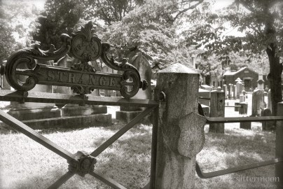 Sleepy Hollow Cemetery by Cackie Trippe McCarty