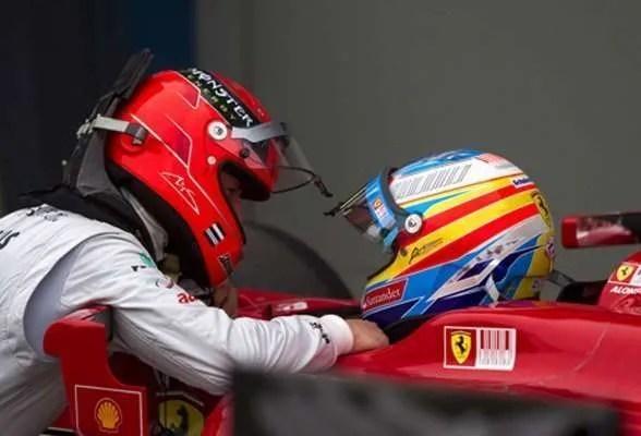 Schumacher Alonso