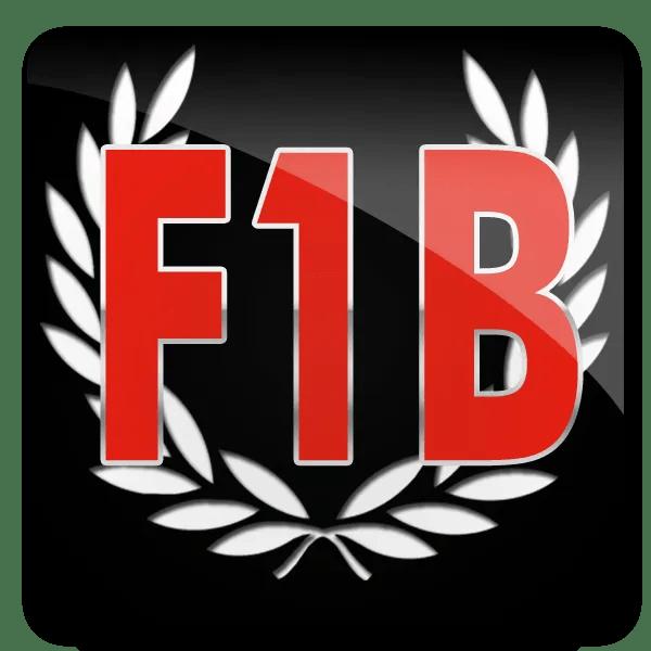 F1B Wreath logo