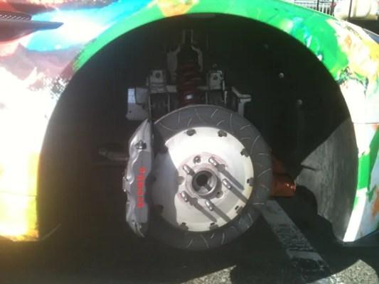 Aston Vantage brake disc c600