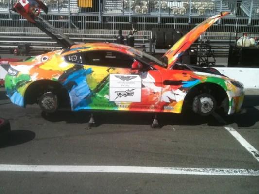 Aston Vantage colors c600