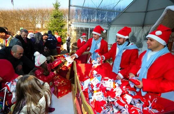 Special Santas at Ferrari