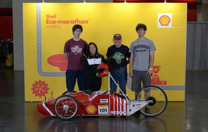 shell eco-marathon swarmouth hydro
