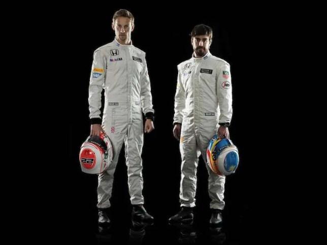 Alonso Button McLaren