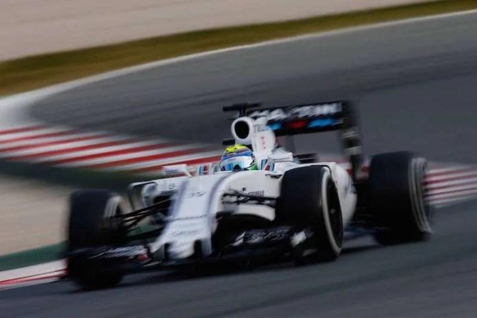 Williams F1 Massa test barca