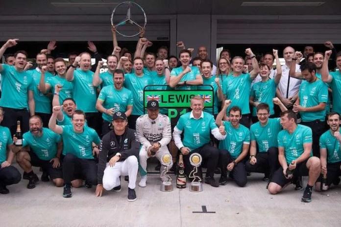 Hamilton Russia Mercedes title 2015