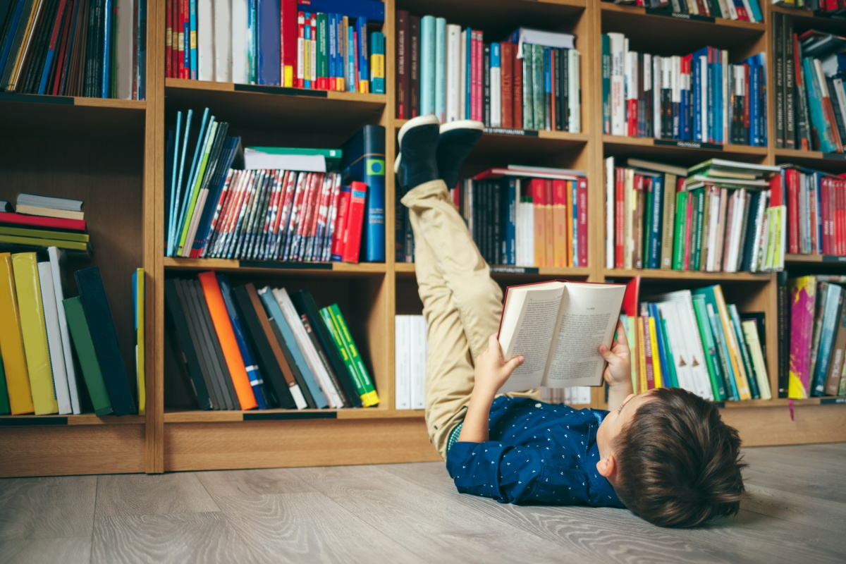 Top 50 Books For Kids and Teens to Read While Stuck Inside