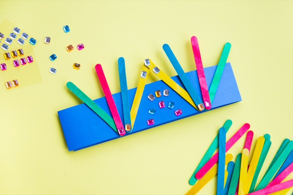 Popsicle Stick Crowns