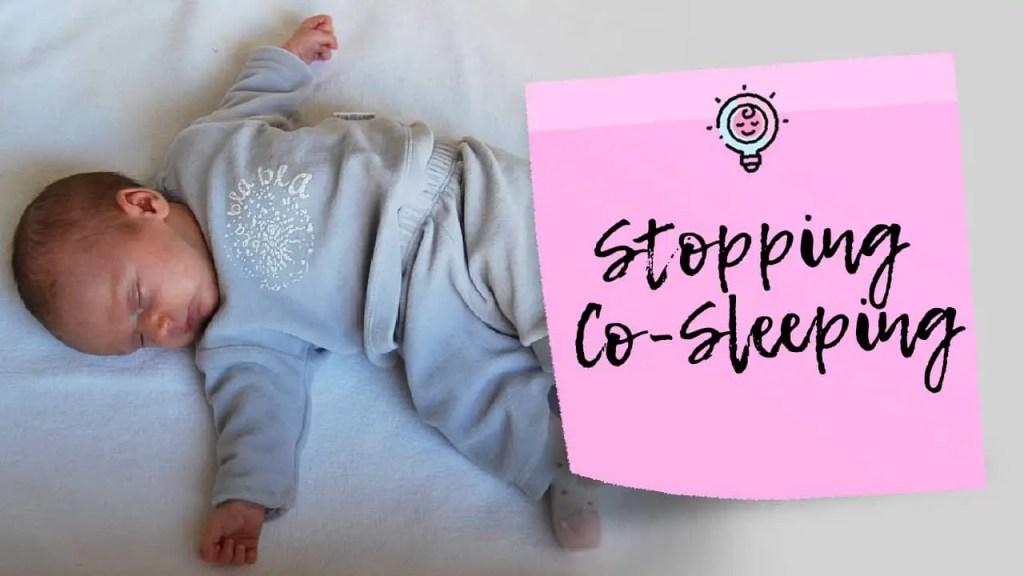 stop co-sleeping