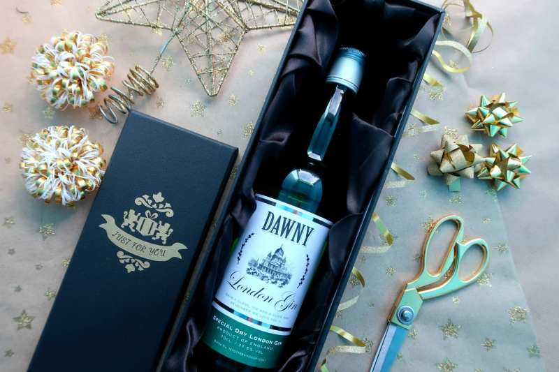 Christmas Gin gift for her