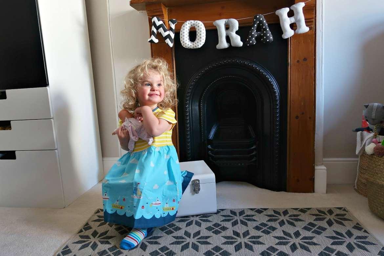 Frugi Demelza dress toddler clothing