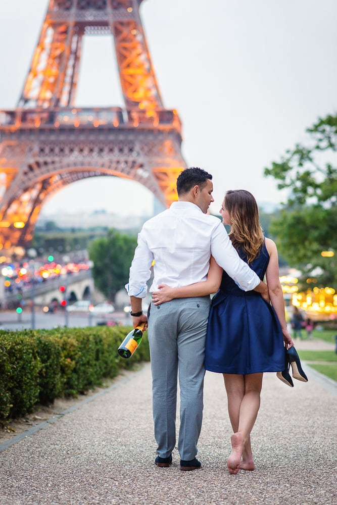 Summer Paris Engagement
