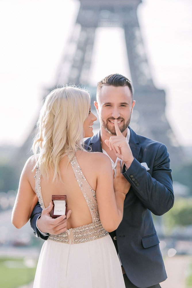 Creative engagement photo ideas - Can you keep a secret 2