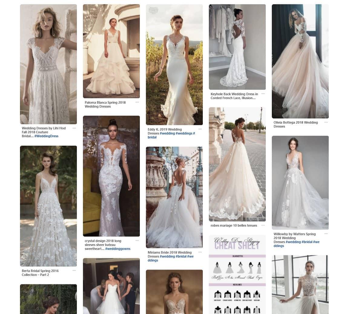 Wedding dresses inspiration - replace it