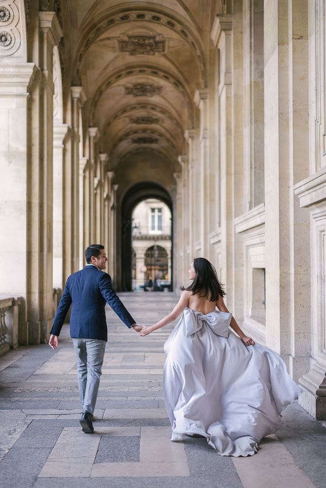Paris Engagement Photoshoot