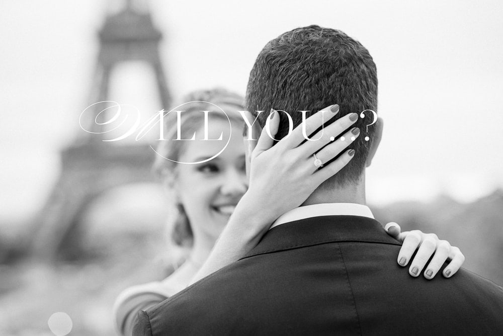 Will you marry me in Paris ?