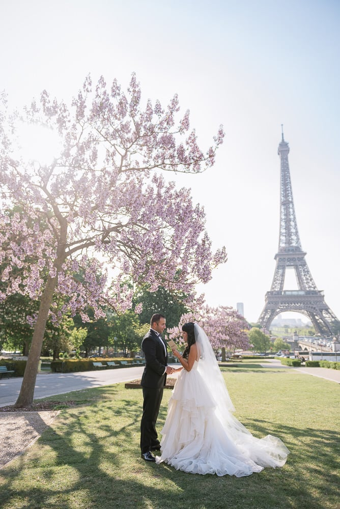elope to paris and say yes to married life in front of the eiffel tower