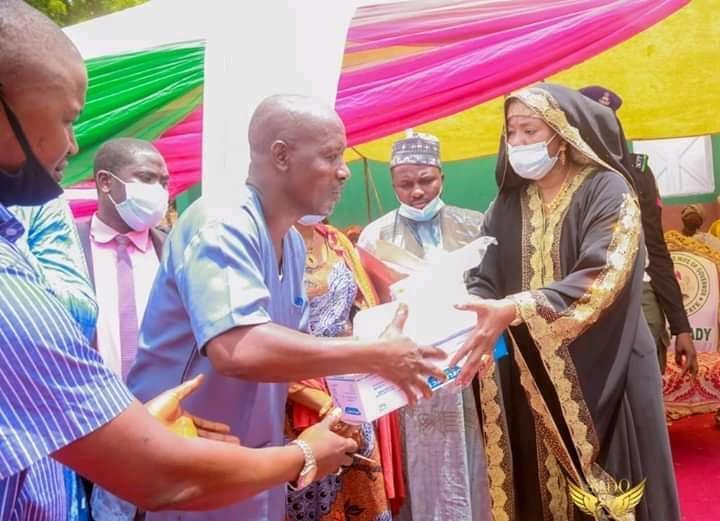 Bauchi  First Lady Gesture Beyond Pure Water
