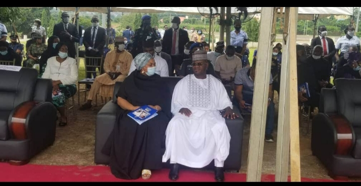 Kogi Governor Comes Under Attack for not Wearing Facemask at Arotile Burial