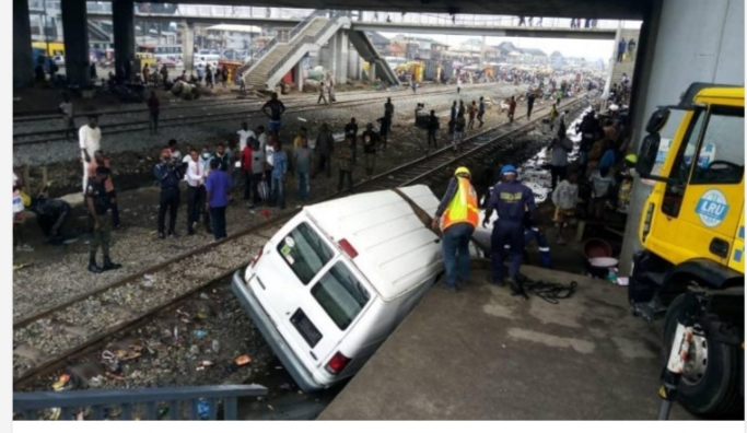 Motorists Lament Poor Surface as Train Collides with Bus