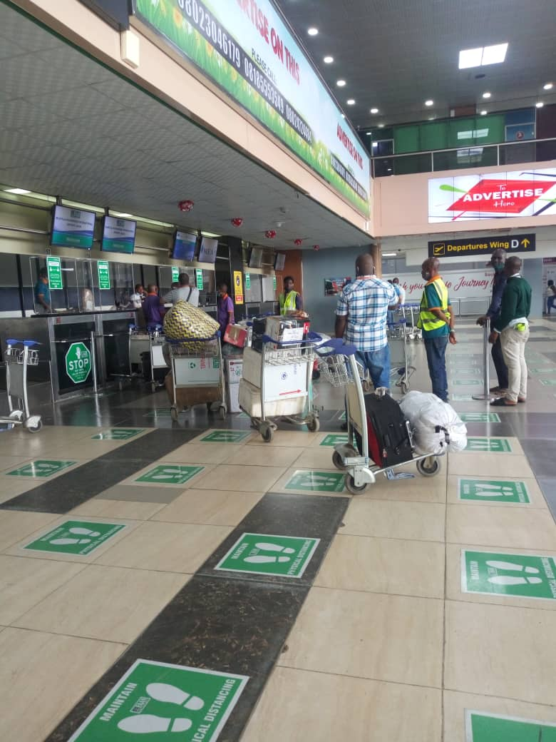 Pictures: Activities Resume at Lagos Int'l Airport
