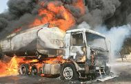Another Petrol -Laden Tanker Explodes