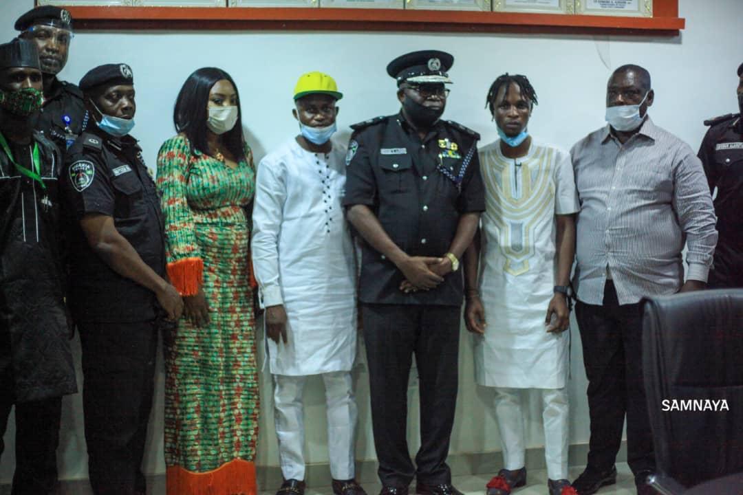 Laycon Ignores Critics, Executes First Task as Ogun Youths Ambassador