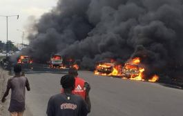 FRSC Harps on Safety as Tanker Explodes on Otedola Bridge
