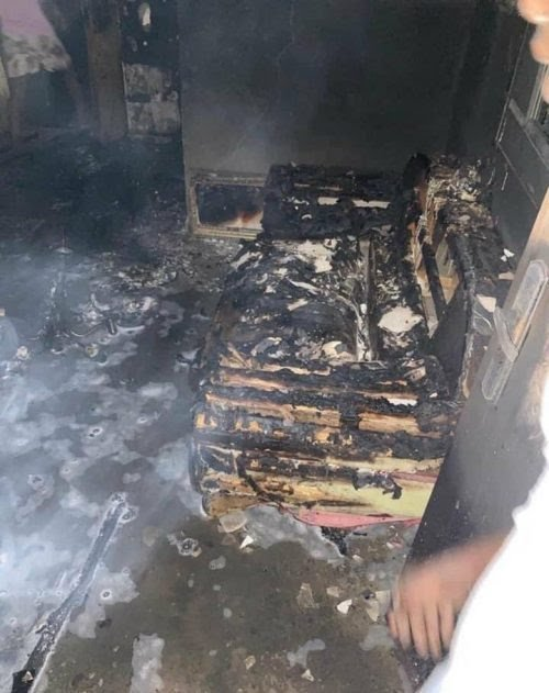 Sunday Igboho's House Razed in Ibadan