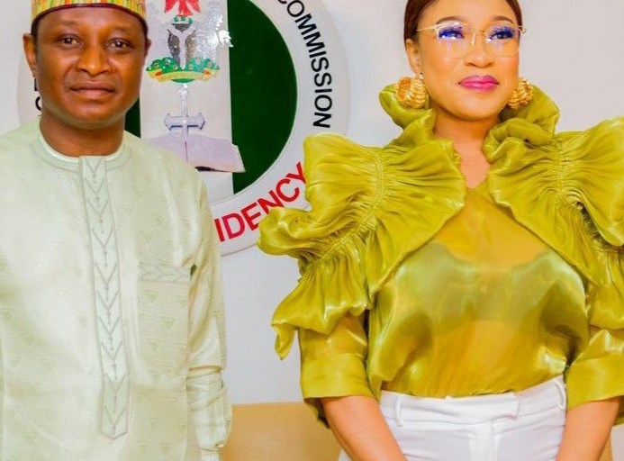 Tonto Dikeh Appointed Ambassador for  Christians