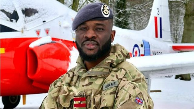 Nigerian  Becomes first non-British flying officer in the RAF