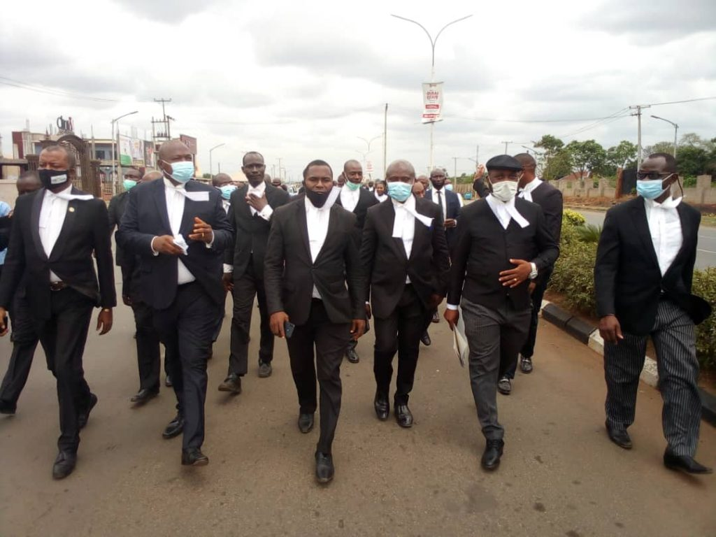 Lawyers Protest Insecurity, Embark on Strike
