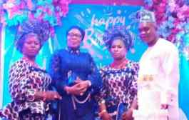 IWD: General Overseer of Sanctuary Christ Mission Int'l Lavishes love on Wives