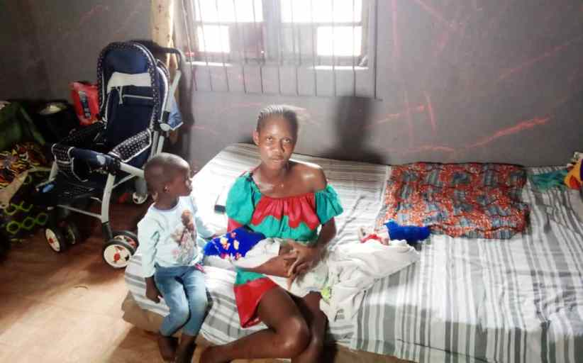 This Suffering is Shattering- Abadoned Mother of Twins Cries out