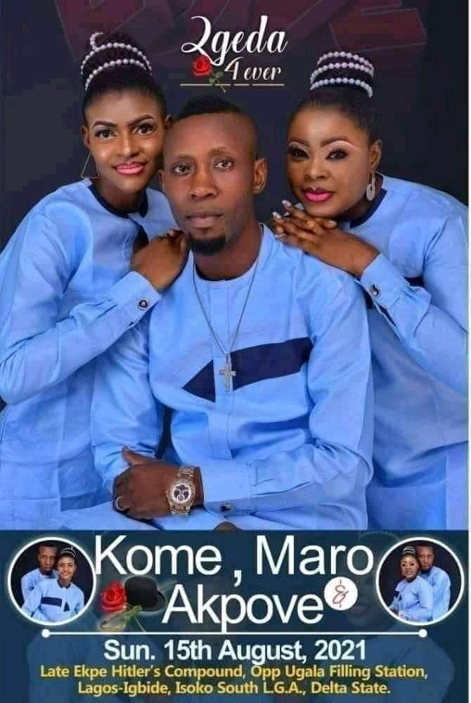 Man Sets to Wed Two Women on Same Day in Delta