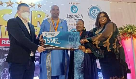 Longrich Fetes, Rewards Partners with Cars, others