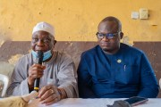 LAWMA Boss Leads Cleanup/ Advocacy in Ajiran, Urges Residents to Comply with Environmental Law