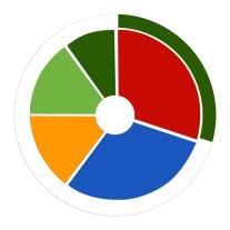 colourful Summary Wheel,