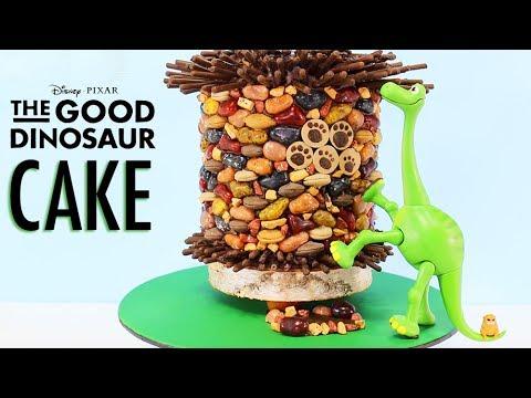 GOOD DINOSAUR CAKE - How to Make an ARLO...