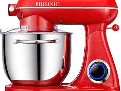 PHISINIC Stand Mixer - Red