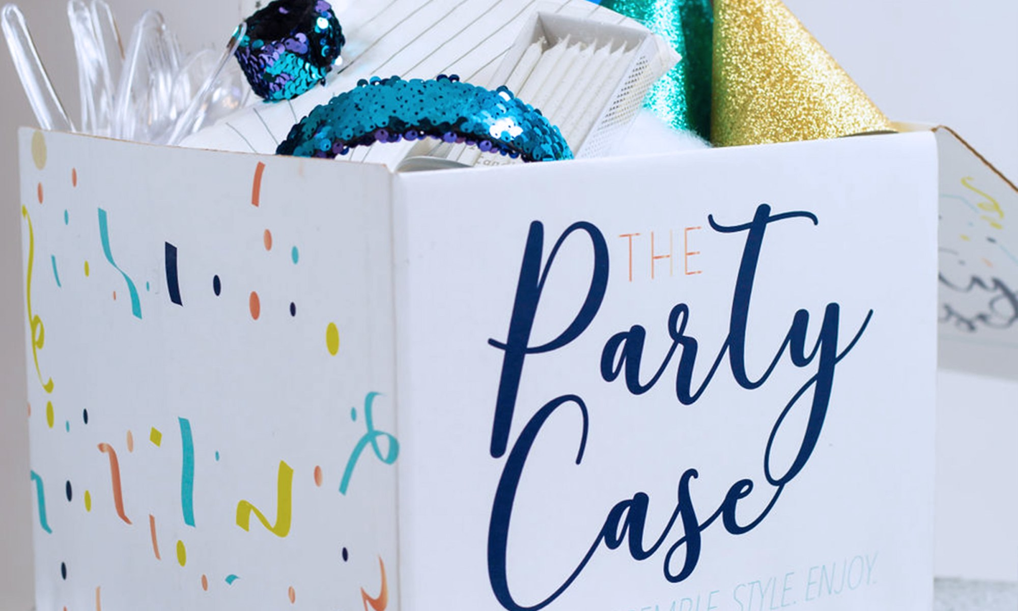 Mermaid Theme Party Case