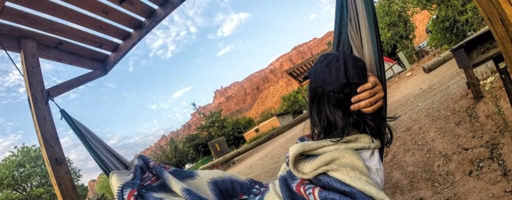 moab utah camping