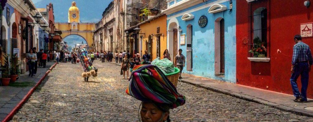 antigua guatemala yellow arch