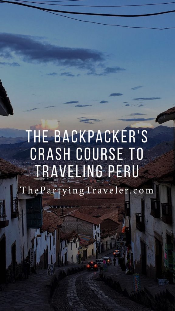 backpackers guide to peru