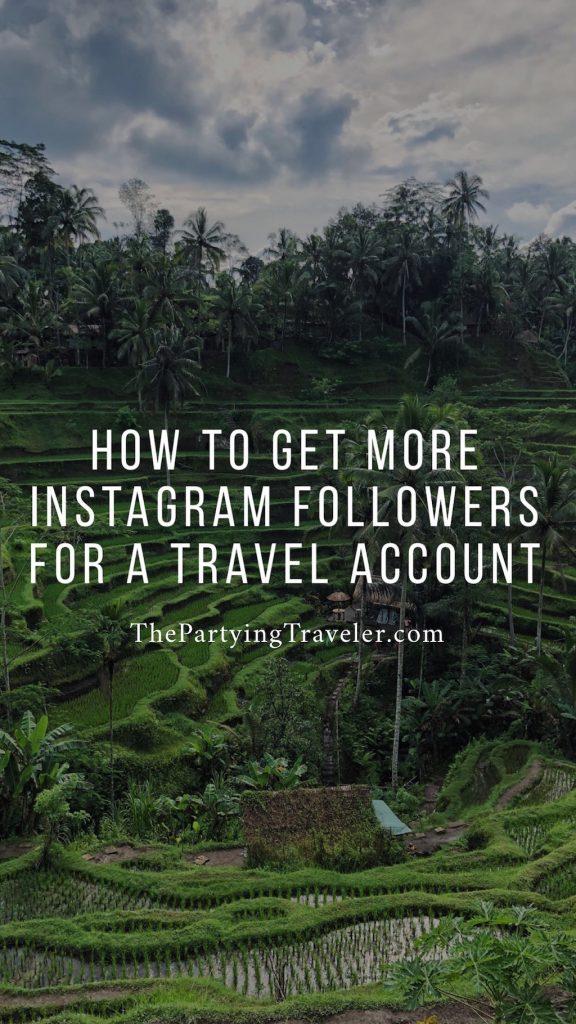instagram followers travel
