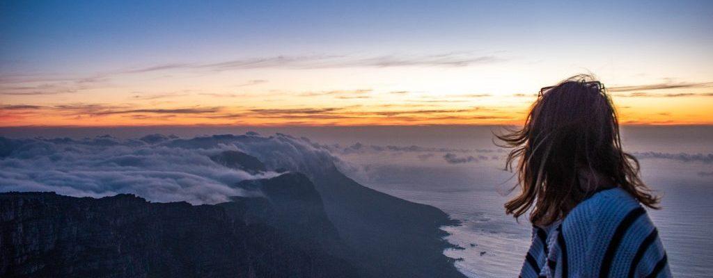 table mountain sunset